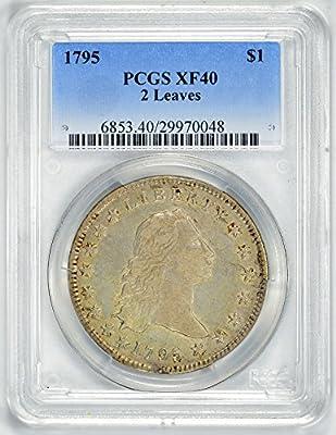 1795 Flowing Hair Dollar EF40 PCGS