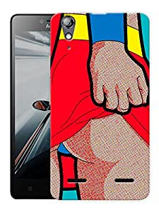 "Humor Gang Superwoman Undies Printed Designer Mobile Back Cover For ""Lenovo A6000 - A6000 PLUS"" (3D, Matte, Premium Quality Snap On Case)"
