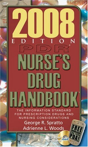 2008 PDR  Nurse's Drug Handbook (Pdr Nurse's Drug Handbook) (Delmar's Nurse's Drug Handbook)