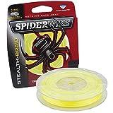 Spiderwire Braided Stealth Superline, 250-Yard/80-Pound, Hi-Vis Yellow