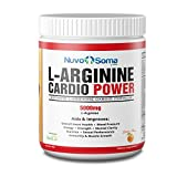 L-Arginine 5000mg Cardio Power: Powerful Nitric Oxide Booster, w/ L-citrulline, CoQ10 & Resveratrol. Amino Acids Build Muscle Fast, Boost Performance, Increase Workout Endurance.