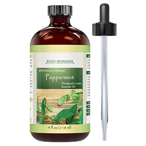Body Wonders Peppermint Oil 4oz