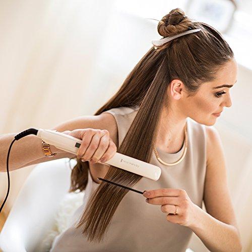 Remington S9100 PROluxe Haarglätter mit OPTIheat-Technologie für ein schonendes Styling -