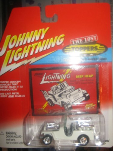 Johnny Lightning The Lost Toppers Beep Heap Jeep White