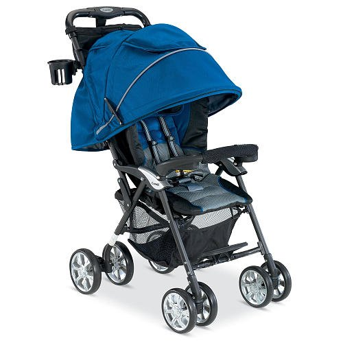 Combi Cabria Stroller Royal Blue back-310709