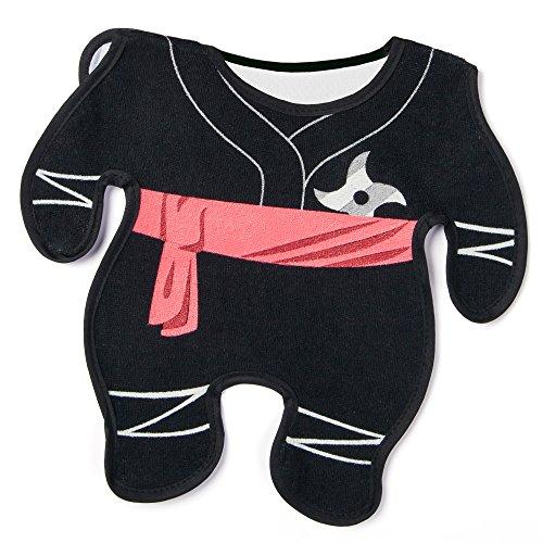 GAMAGO Ninja Baby Bib, Black