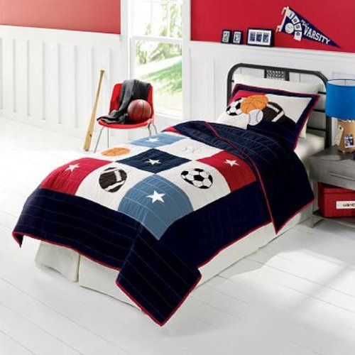 Kids Sports Bedding For Boys front-47129