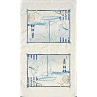 Blue Sea Linen Towel