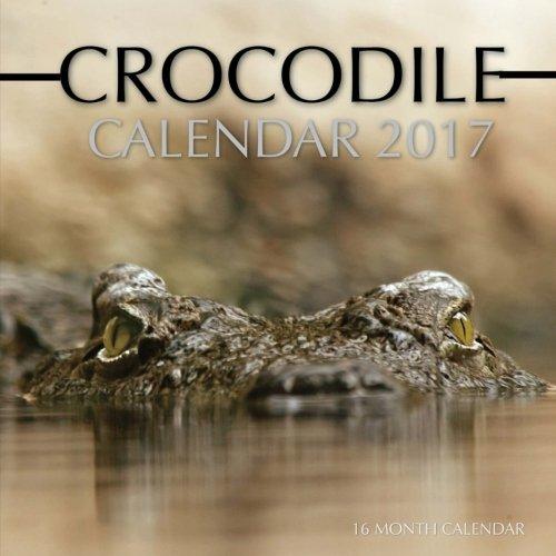 Crocodile Calendar 2017: 16 Month Calendar