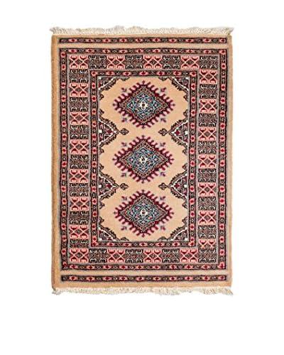 Navaei & Co. Teppich Kashmir beige/mehrfarbig 93 x 65 cm