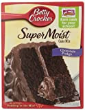 Betty Crocker Chocolate Fudge Cake Mix, 15.25 oz