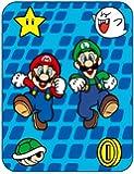 Nintendo Super Mario on an Adventure Micro Raschel Throw, 46 by 60-Inch