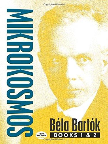 Mikrokosmos: Books 1 & 2 [Bartok, Bela] (Tapa Blanda)