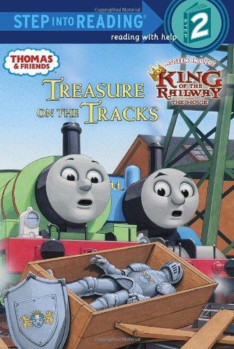 Treasure on the Tracks (Thomas & Friends) (Step into Reading)