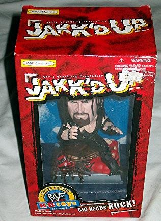 Jakk'd Up Undertaker WWF Big Heads Rock!