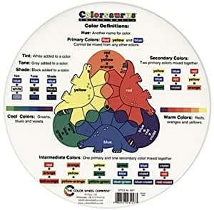 Amazon.com - The Color Wheel Company Colorsaurus Children'S Color