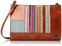 The Sak Iris Demi Clutch Shoulder Bag, Ribbon Patch, One Size