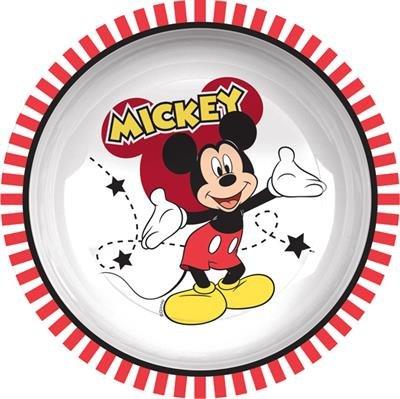 Trudeau 6022080H Mickey Mad About Plat Creux Grand Mélamine Multicolore 20 x 15 x 5 cm