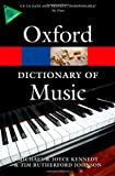 img - for The Oxford Dictionary of Music (Oxford Paperback Reference) book / textbook / text book