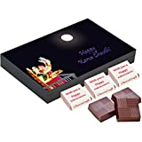 Best Gift For Wife For Karvachauth - 6 Chocolate Gift Box - Unique Gift For Karvachauth