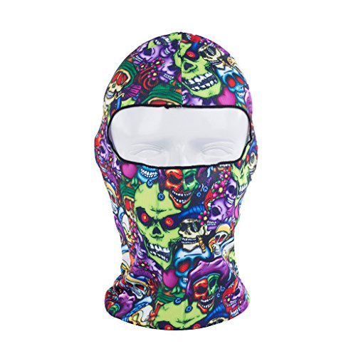 Balaclava Full Face Mask For Motorcycle Ski Cycling and other Outdoor Sports -For Women and Men
