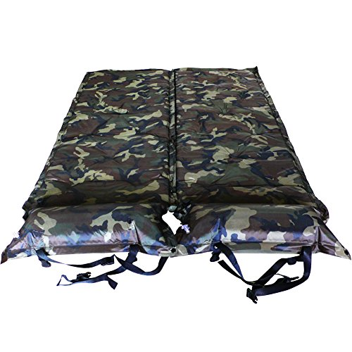 Gazelle Outdoors Double 2 Person Self Inflating Sleeping Pads Camping