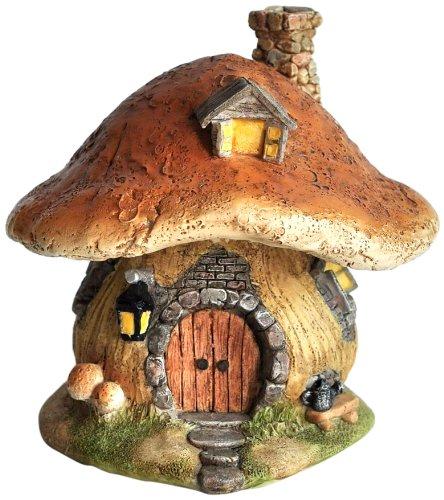 Top Collection Miniature Fairy Garden and Terrarium Mushroom Fairy House Statue