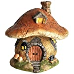 Top Collection Miniature Fairy Garden and Terrarium Mushroom Fairy House Statue