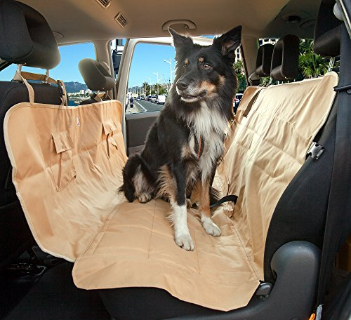 car hammock for dogs pet seat cover premium nonslip leather and upholstery car seat. Black Bedroom Furniture Sets. Home Design Ideas