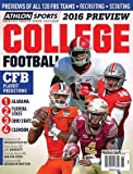 Athlon Sports 2016 College Football National Preview Magazine - ALABAMA/Clemson/Florida State/Ohio State