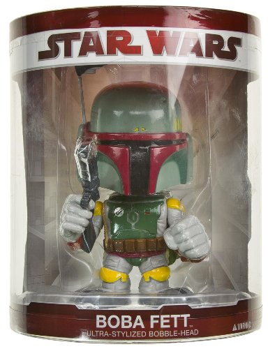 Buy Low Price Funko Boba Fett 5″ Bobble-Head Figure: Star Wars Ultra-Stylized Bobble Head Series (B005HB3CWU)