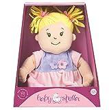 Manhattan Toy Baby Stella Blonde Hair Soft Nurturing First Baby Doll