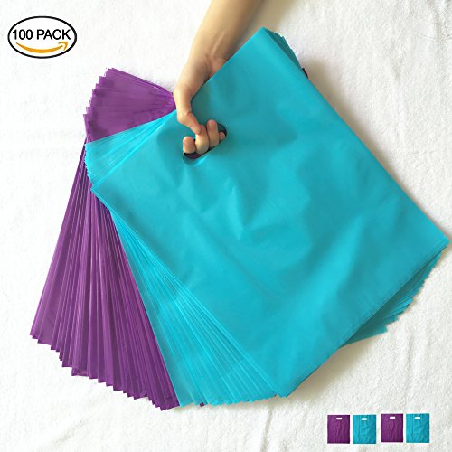 Purple Teal Blue Merchandise Bags