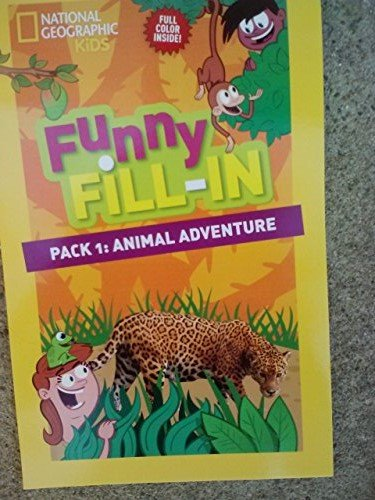 National Geographic Funny Fill-in ~ 'Mad Lib' Activity Pad ~ #1: Animal Adventure - 1