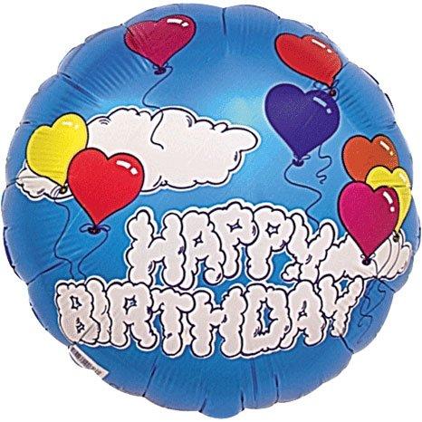 "18"" Birthday Clouds Advantage - 1"