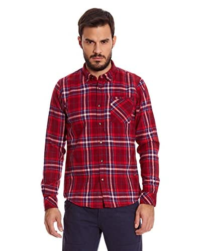New Caro Camicia Uomo Esteban [Rosso]