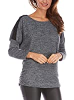 FRENCH CODE Jersey Ivana (Gris Oscuro)