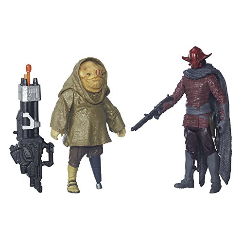Star Wars: The Force Awakens 3.75 Inch 2 Pack Sidon Ithano and First Mate Quiggold