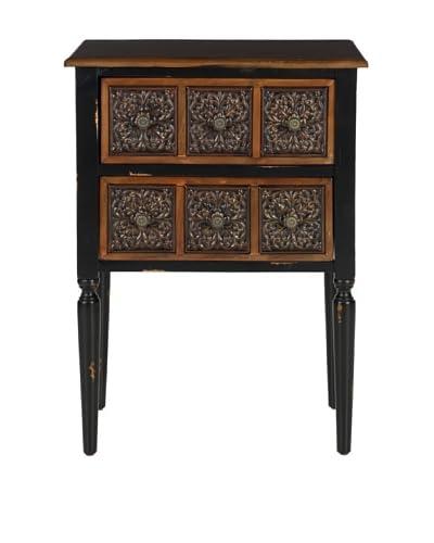 Safavieh Kenneth Side Table, Dark Brown
