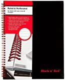 Mead Black n' Red Business Notebook, Hardcover, Twin Wire (K67030)