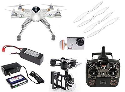 Xiangtat Walkera QR X350 PRO GPS FPV Quadcopter Drone With Devo F7 Radio & G-2D Gimbal & HD iLook+ Camera & 5.8ghz Antenna, Battery, Charger RTF