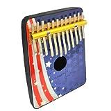 Schoenhut 12 Note Flag Thumb Piano (Red/White/Blue) ~ Schoenhut