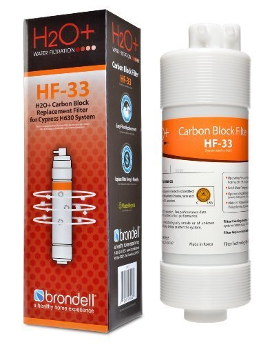 Brondell H2O+ Cypress Carbon Block Water Filter (HF-33) (Brondell Countertop Water Filter compare prices)