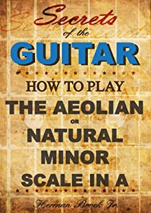 How To Play The Aeolian Or Natural Minor Scale In A - Secrets Of The Guitar