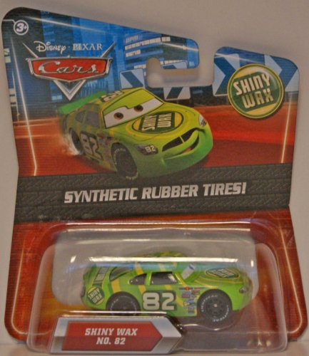 Disney / Pixar CARS Movie Exclusive 155 Die Cast Car with Synthetic Rubber Tires Shiny Wax