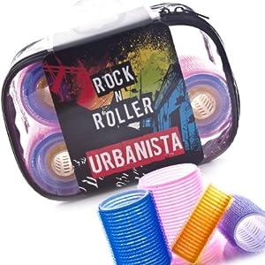 Urbanista Rock-n-Roller Velcro Hair Roller Set