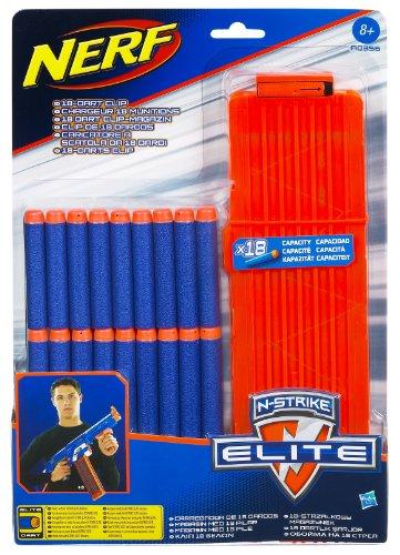 Hasbro A0356148 - Nerf N-Strike Elite 18 Dart Clip-System