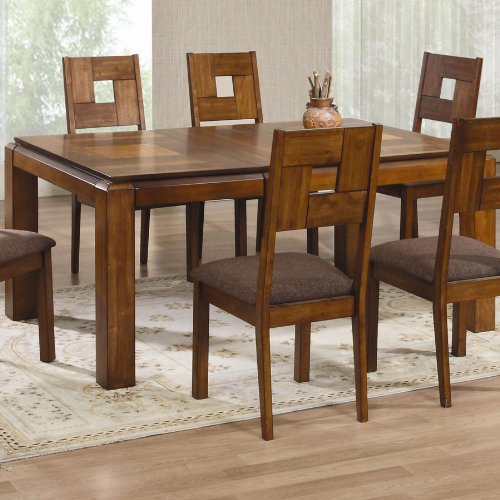 Rectangle Dining Table with 18 inches Leaf