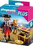 PLAYMOBIL 4783 - Pirat mit Schatztruhe