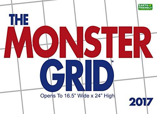 Monster Grid 2017 Wall Calendar